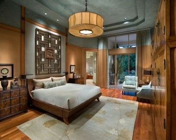 Asian Bedroom Dramatic