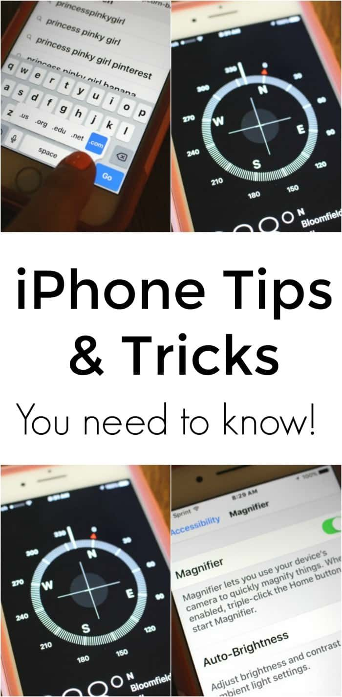 iPhone Tips and Tricks you need to know! These iPhone hacks will change the way you use your phone.
