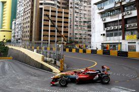 Antonio Felix da Costa, Carlin, takes provisional pole after the first round at Macau 2012