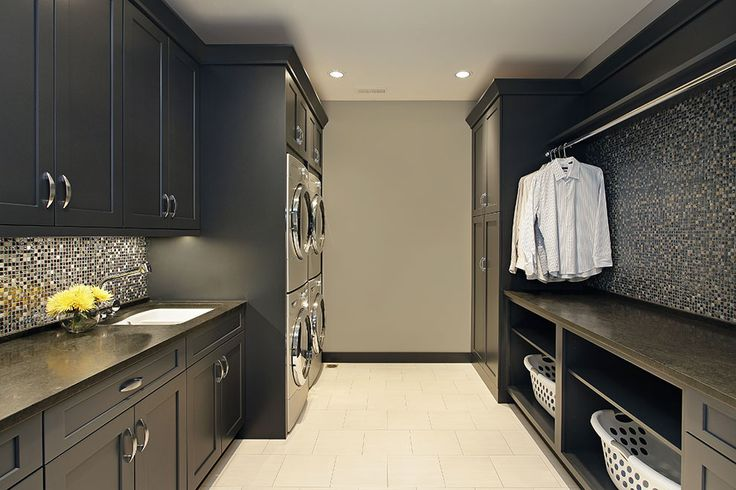 Laundry room with everything