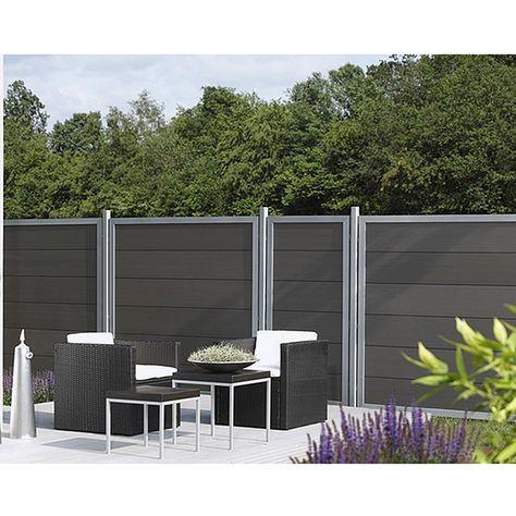 Die besten 25+ Zaun sichtschutz kunststoff Ideen auf Pinterest - terrasse paravent sichtschutz