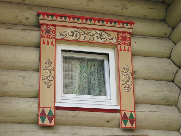 Наличники на окна.