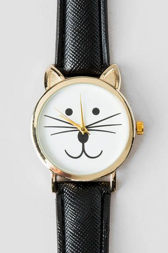 Stella Cat Watch  Just got this watch, totally adorable! Meow:)
