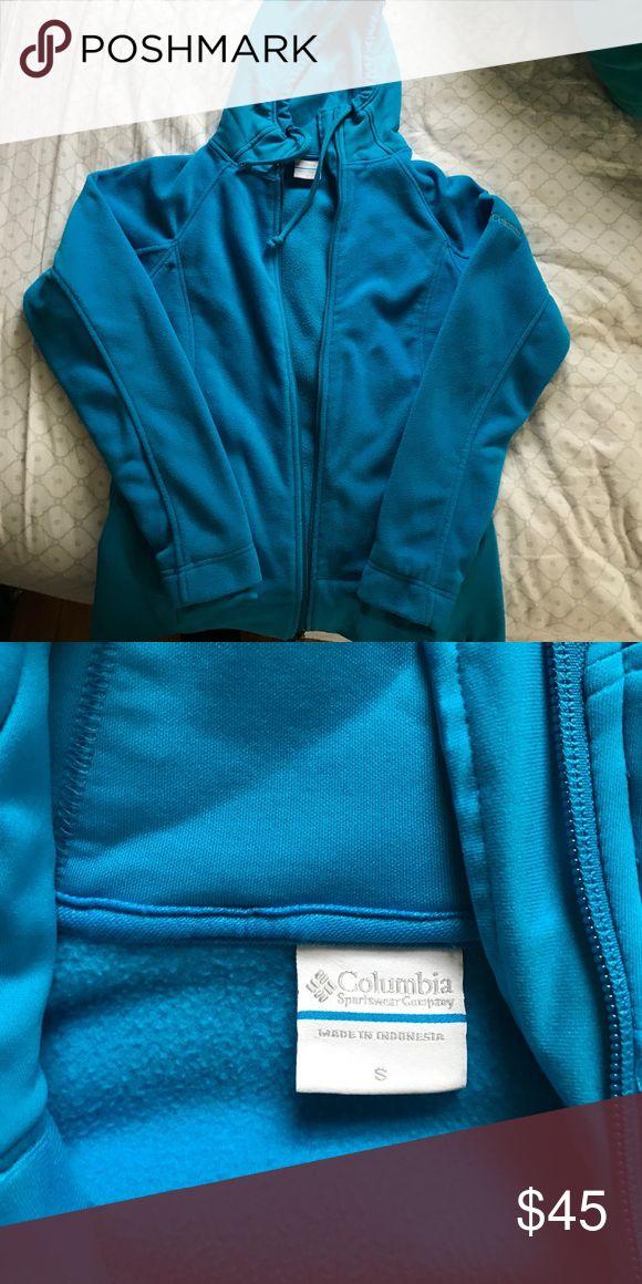 Columbia sportswear company fleece zip up Blue fleece zip up ; brand new Sweaters