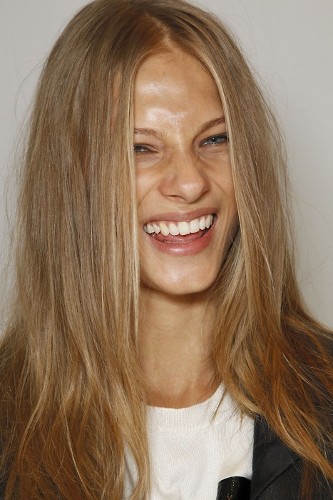 Blonde haare rot farben photoshop
