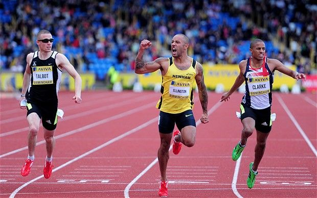Olympic trials 2012: James Ellington's eBay auction finally pays off with London 2012 Olympics spot  James Ellington, the sprinter who was so desperate to qualify for the Olympics that he auctioned himself on eBay to raise funds for his training campaign, was rewarded for his enterprise when he won the 200 metres final at the Olympic trials in Birmingham to book his ticket to London 2012