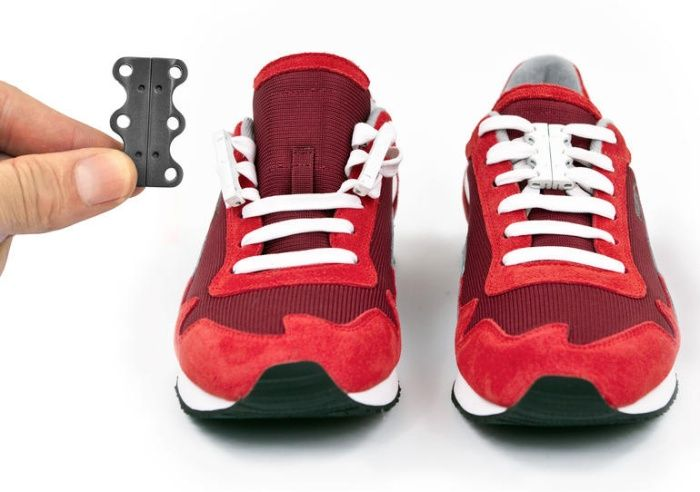 Never Ties Shoelaces Again With Zubits Magnetic Shoe Closures