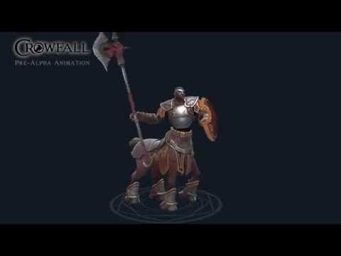 Crowfall - Centaur Animation Preview - YouTube