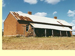 Picture of a house from the Swan River Colony - 1835