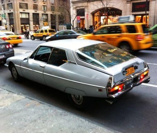 The 1973 Citroen SM in New York