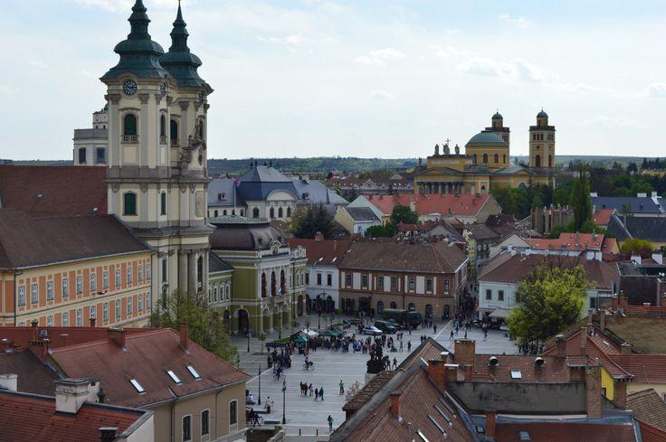 **Dobo Square (main square) - Eger, Hungary