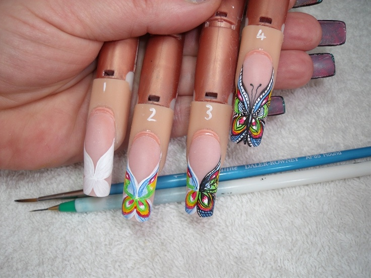 55 best UÑAS PASTELES images on Pinterest | Pastel nail, Nail art ...