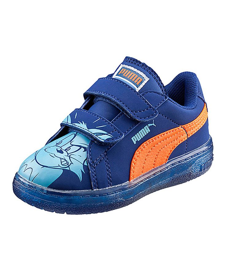 Loving this Sodalite & Blue Smash Tom & Jerry Light-Up Shoes on #zulily