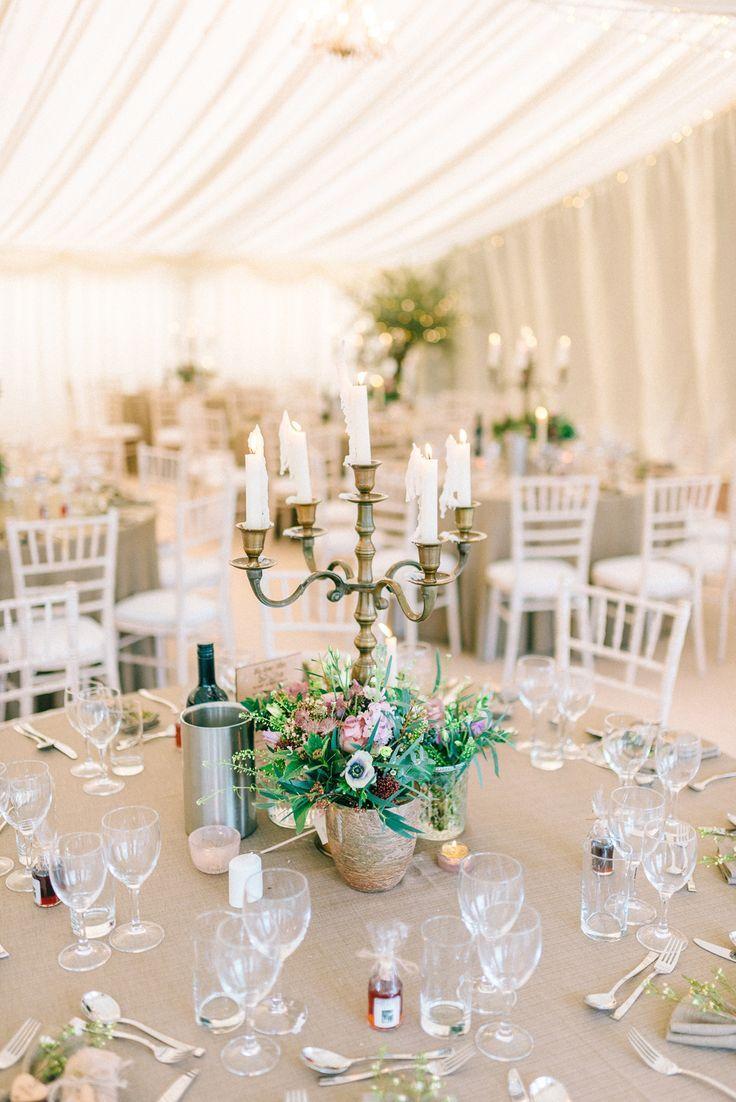 Elegant Classic Winter Wedding In A Marquee SarahJane