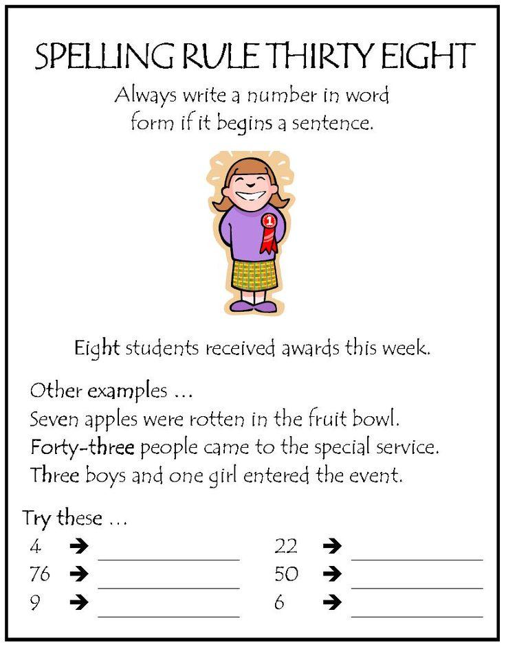 Spelling Rule #38 | Parkhurst State School