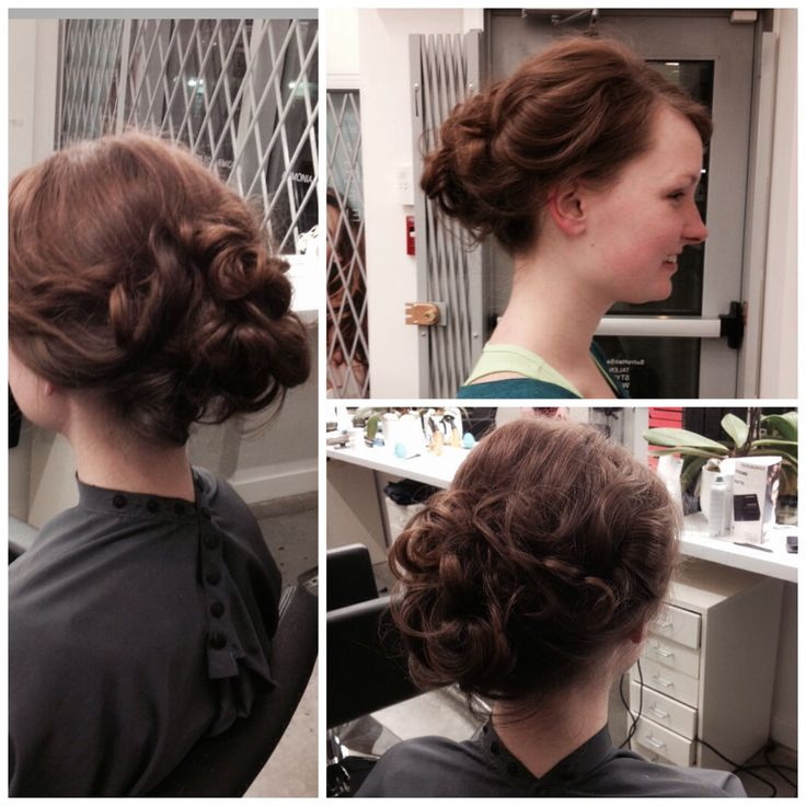 Quick and easy 5min updo!