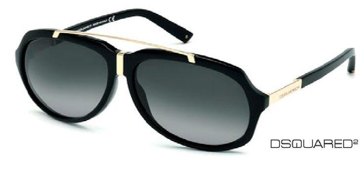 DSQUARED2 siempre nos sorprende con sus #diseños. Nos encantan estas #gafasdesol maxi. Un toque #cool para tu #outfit.