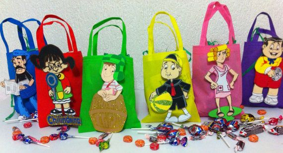 El chavo del 8 & Friends   Foam Candy Bags  / by Mexicoatyourhome, $2.40