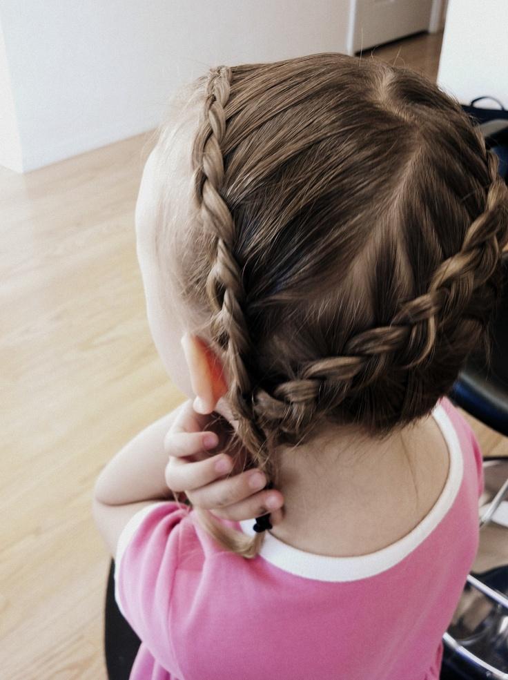 flettet hår, braided hair by Catherine Caldwell