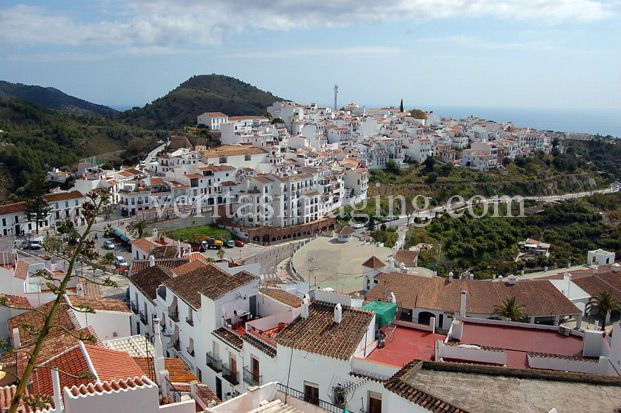 Frigiliana village. Andalusia, #Spain #travelphotos #stockphotography