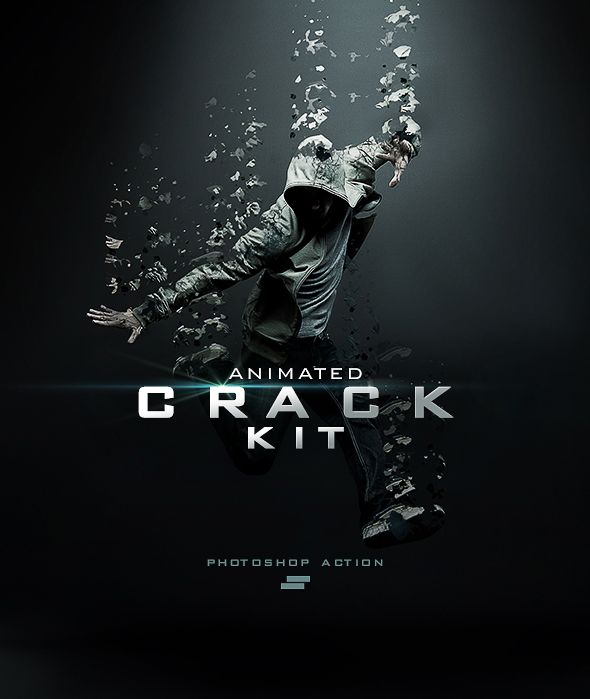 Gif Animated Crack Kit Photoshop Action. Download: https://graphicriver.net/item/gif-animated-crack-kit-photoshop-action/18756373?ref=thanhdesign