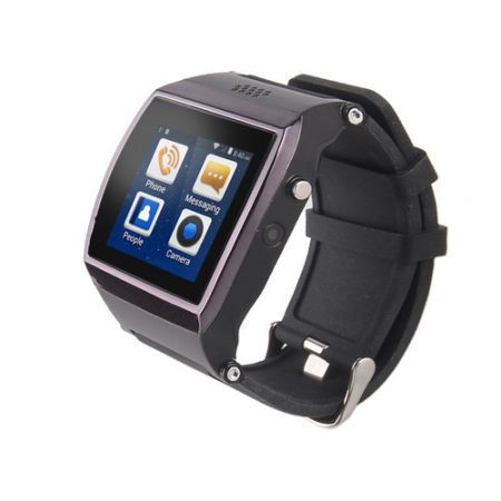 "Uwatch UPRO Bluetooth 1.55"" Screen Smart Watch Phone w/ SIM Card, 300KP Camera, 128MB Memory"
