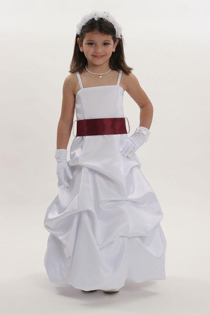 Size 2 white dress girls