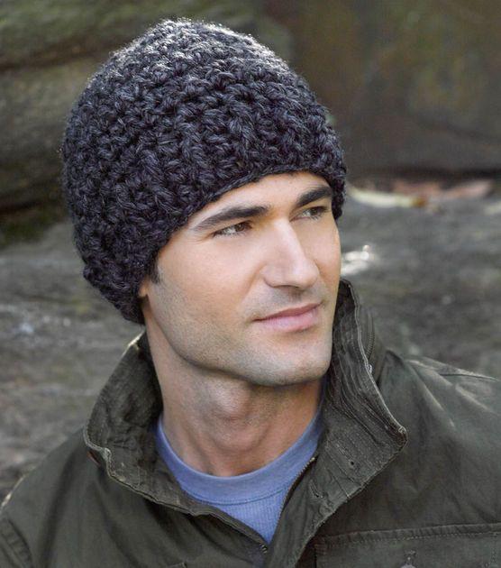 Simple Grey Crochet Hat