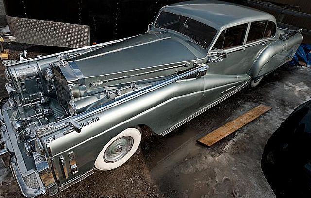 Customized 1954 Rolls Royce Silver Wraith