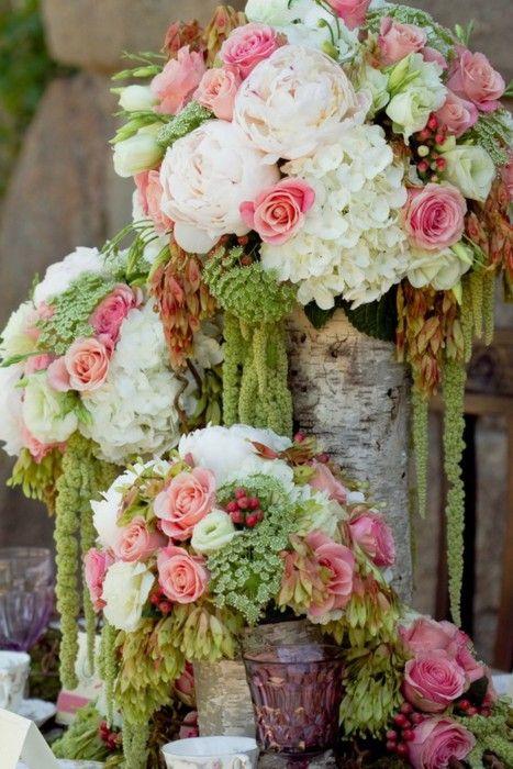<3<3<3: Green, Flowers Arrangements, Wedding Flowers, Bouquets, Colors Combinations, Colors Schemes, Pink Rose, Floral Arrangements, Centerpieces