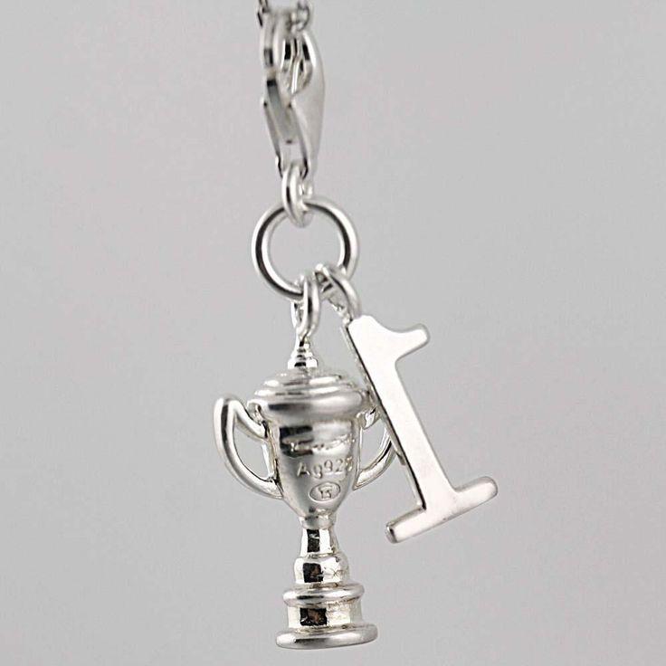 Thomas Sabo Charms Club Sterling Silver Trophy Cup No1 Charm | eBay