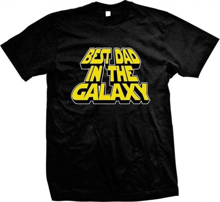 Best Dad In The Galaxy- Father's Day Star Wars Sci Fi Slogans - Men's T-shirt - https://bestsellerlist.co.uk/best-dad-in-the-galaxy-fathers-day-star-wars-sci-fi-slogans-mens-t-shirt/