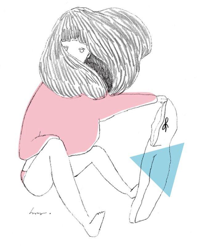 NUGETA  これ以上何もできなくて良い できても報われない。 どーでも良い奴の意見は要らない あなたに認められないと、 意味が無い。  #イラスト#illustration #hara#リンスインシャンプー