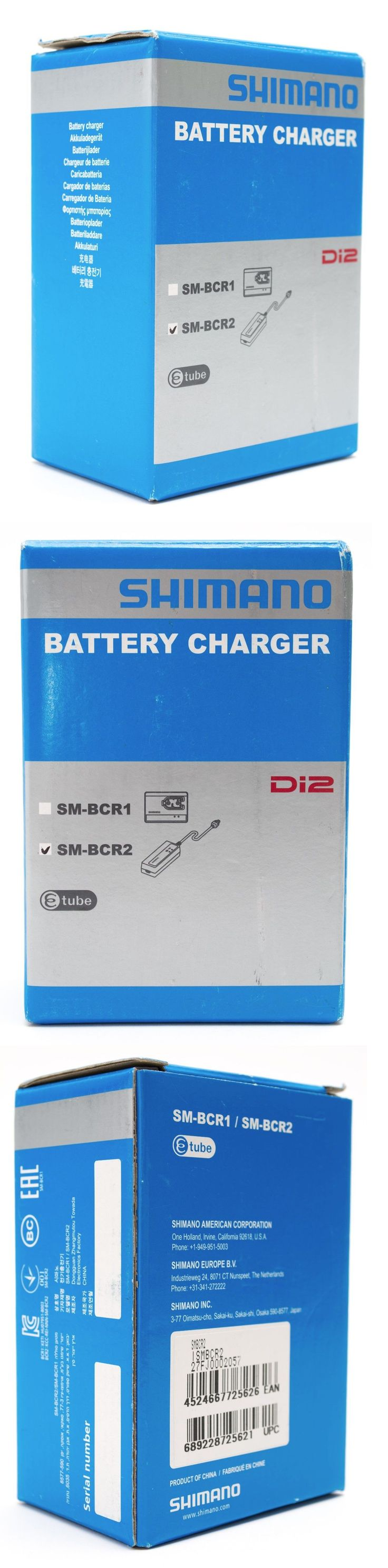 Electric Bicycle Components 177814: Shimano Sm-Bcr2 Dura Ace Di2 Road Cyclocross Bike Battery Charger Etube New -> BUY IT NOW ONLY: $79.95 on eBay!