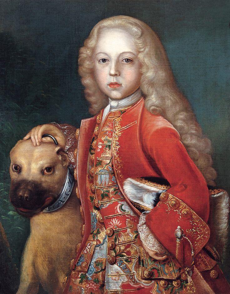1717 Johan Seirling - Portrait of Prince Friedrich Hermann Otto von Hohenzollern-Hechingen