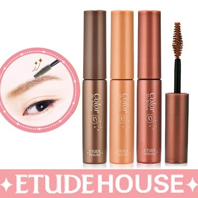 etude eyebrow mascara | etude house brow cara brow mascara for eye brows color my brows etude ...
