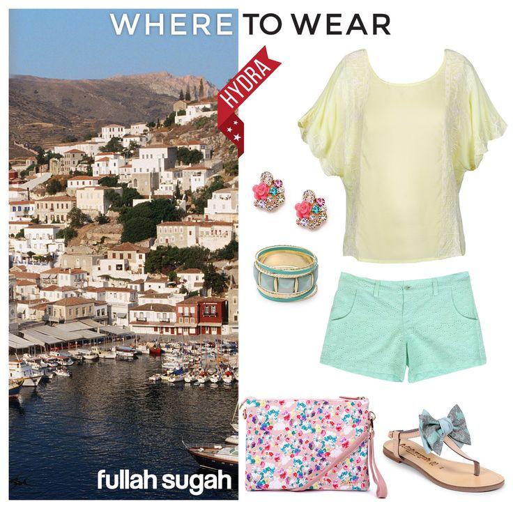 Βόλτες στην γραφική Ύδρα με Fullah Sugah! #sales #fashion #trends #style #summer_look