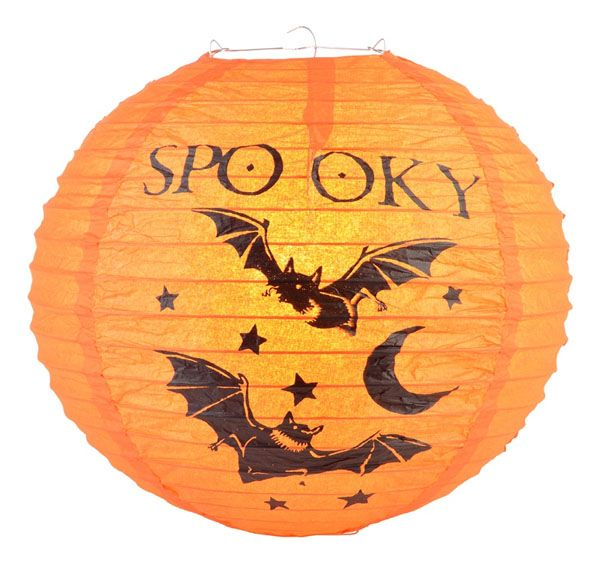 Halloween на Sees-All-Colors. Круглые бумажные фонарики