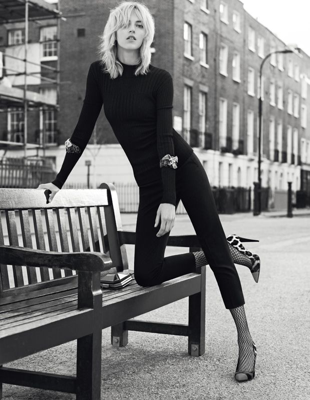 Anja Rubik Fronts Giuseppe Zanotti Fall 2013 Campaign | Fashion Gone Rogue: The Latest in Editorials and Campaigns