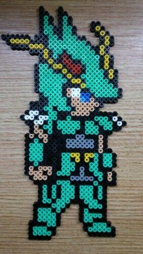 Shiryu saint seiya hama perler beads