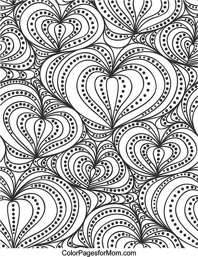 Love Colouring Patterns Book : 17 best images about ✐♥adult colouring~hearts~love ~zentangles