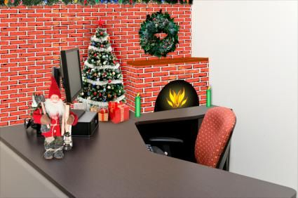 lovely office cubicle christmas decorating ideas | Ideas for Christmas Cubicle Decorations | Christmas ...