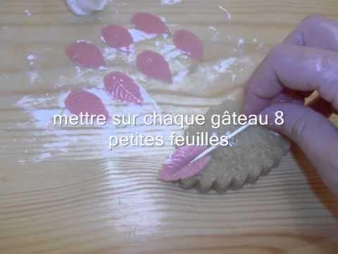 Gâteaux des fêtes la tresse حلويات الافراح - YouTube