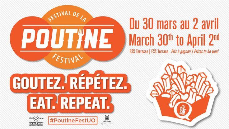 """uOttawa Direct on Twitter: """"Le Festival de la poutine est de retour pour sa 2e édition! http://t.co/13zmWklwuF #PoutineFestUO http://t.co/dM1xd3IWHe"""""""