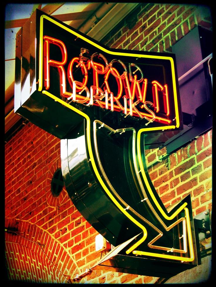 rotown rotterdam (sign produced by Neon Time)