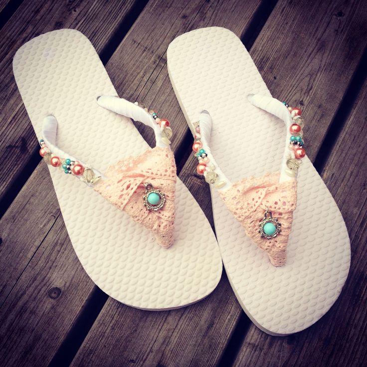 Workshop slippers pimpen @abitoflilli #lovesummer #flipflops