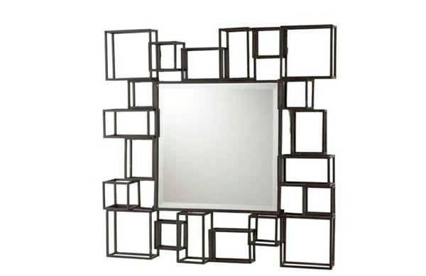 Ber ideen zu moderne spiegel auf pinterest wandspiegel spiegel und luxus badezimmer for Idee deco spiegel