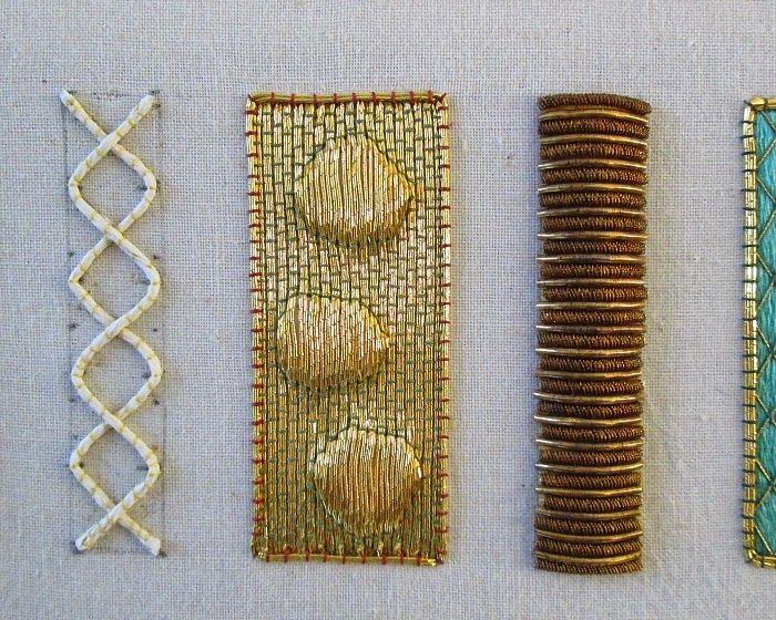 In wat wel een vorig leven lijkt, ben ik ooit begonnen met goudwerk.  Mijn  lerares was Ruth Chamberlin, die haar vak had geleerd bij de S...