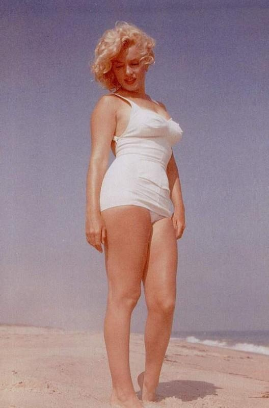 Say what you want about her but Marilyn Monroe has held her own as a sex symbol for 50 yrs. Beat that and we can talk.