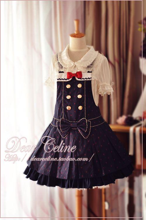 Dear Celine Sailor Jumper Skirt
